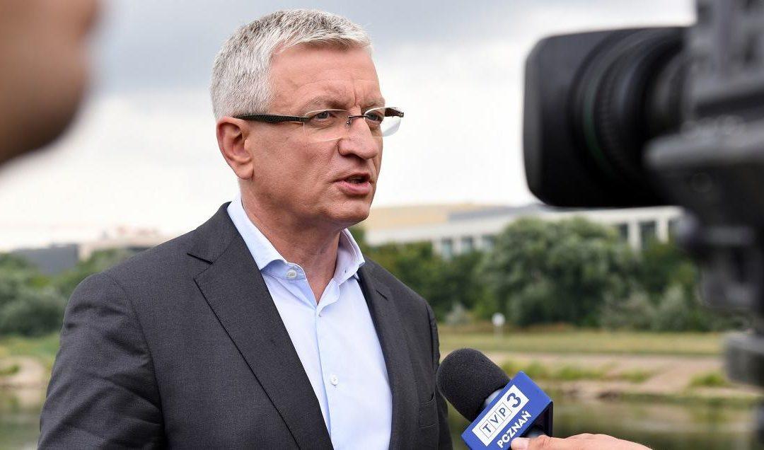 J.Jaśkowiak wygrał w sądzie z TVP