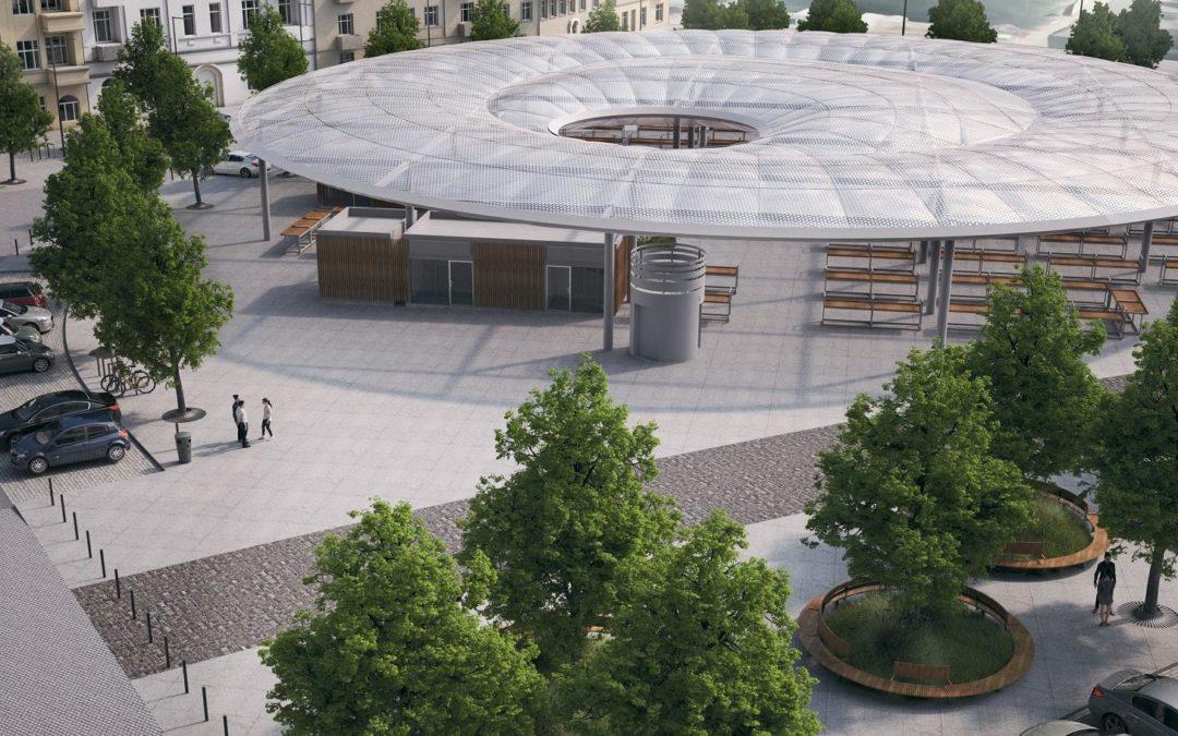 Ogłoszono kolejny przetarg na przebudowę Rynku Łazarskiego