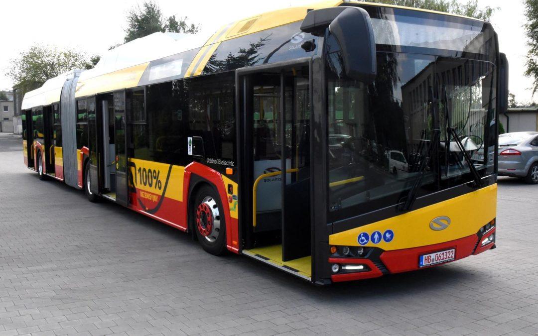 Elektryczne autobusy na ulicach Poznania