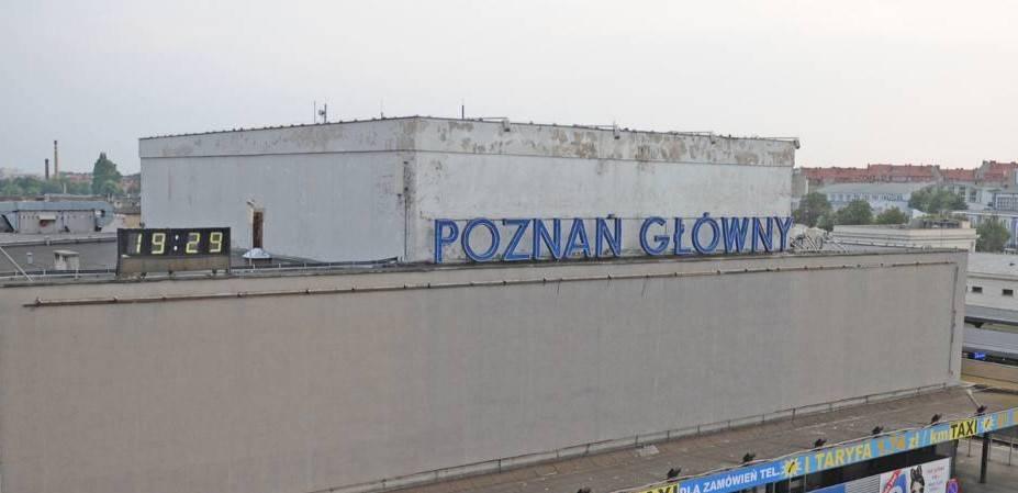 Poznań chciałby przejąć dworzec. PKP mówi, będziemy budować