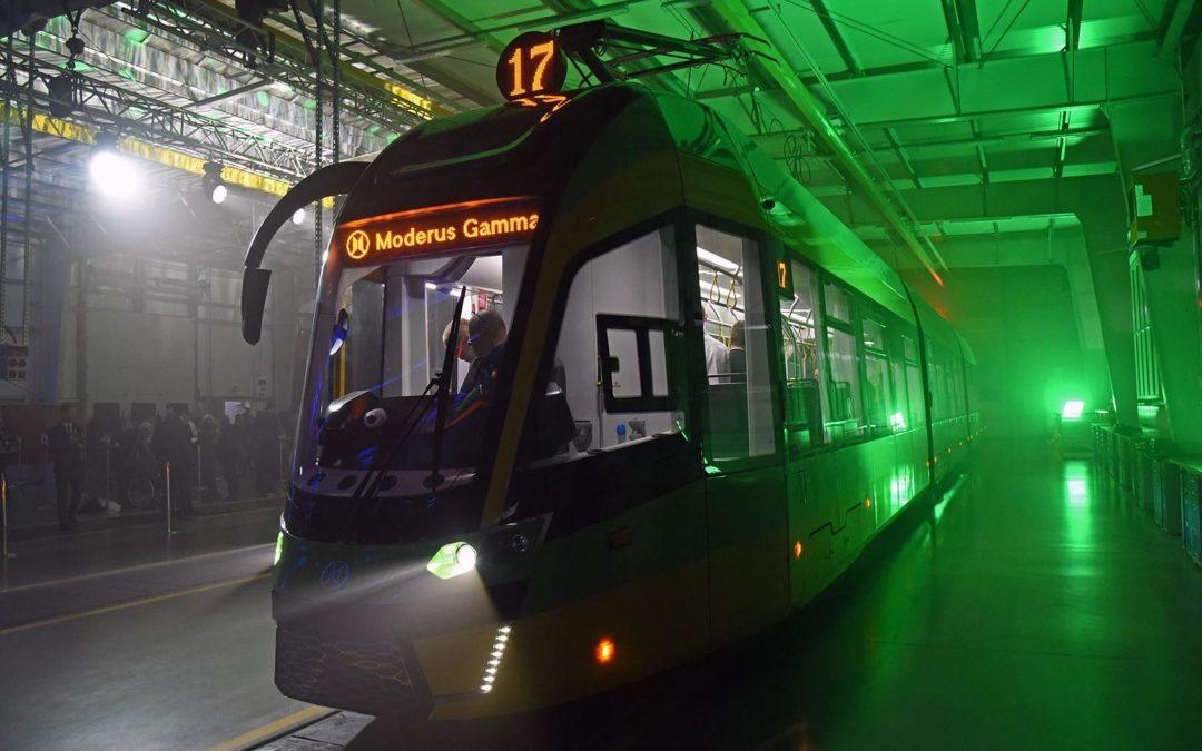 Gamma dla Poznania. Miasto ma nowe tramwaje