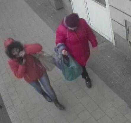 Pomóż złapać bezczelne złodziejki