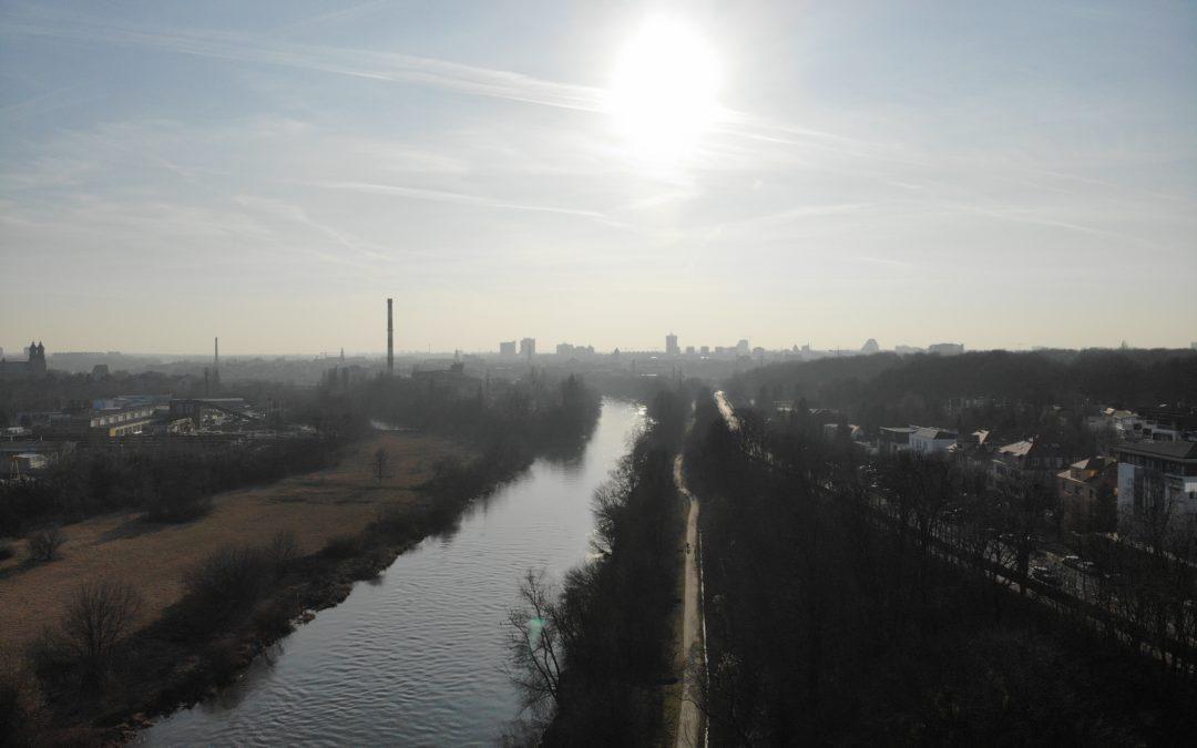 Michał Rosiak spadł do rzeki ze skarpy. Urzędnik chce by ją zabezpieczono