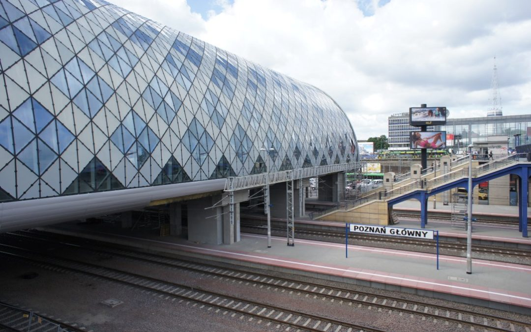 Paraliż komunikacyjny na stacji PKP Poznań Główny