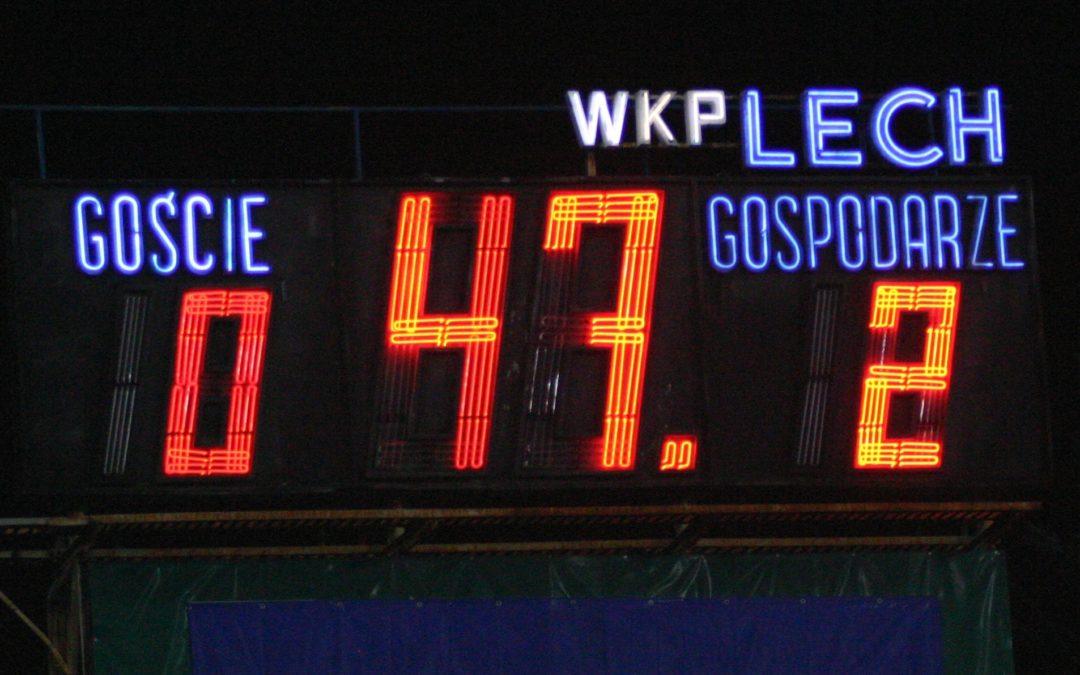 Na Bułgarską wróci stary zegar ?