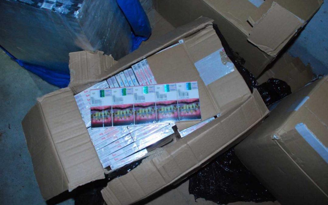 80 tysięcy sztuk nielegalnych papierosów