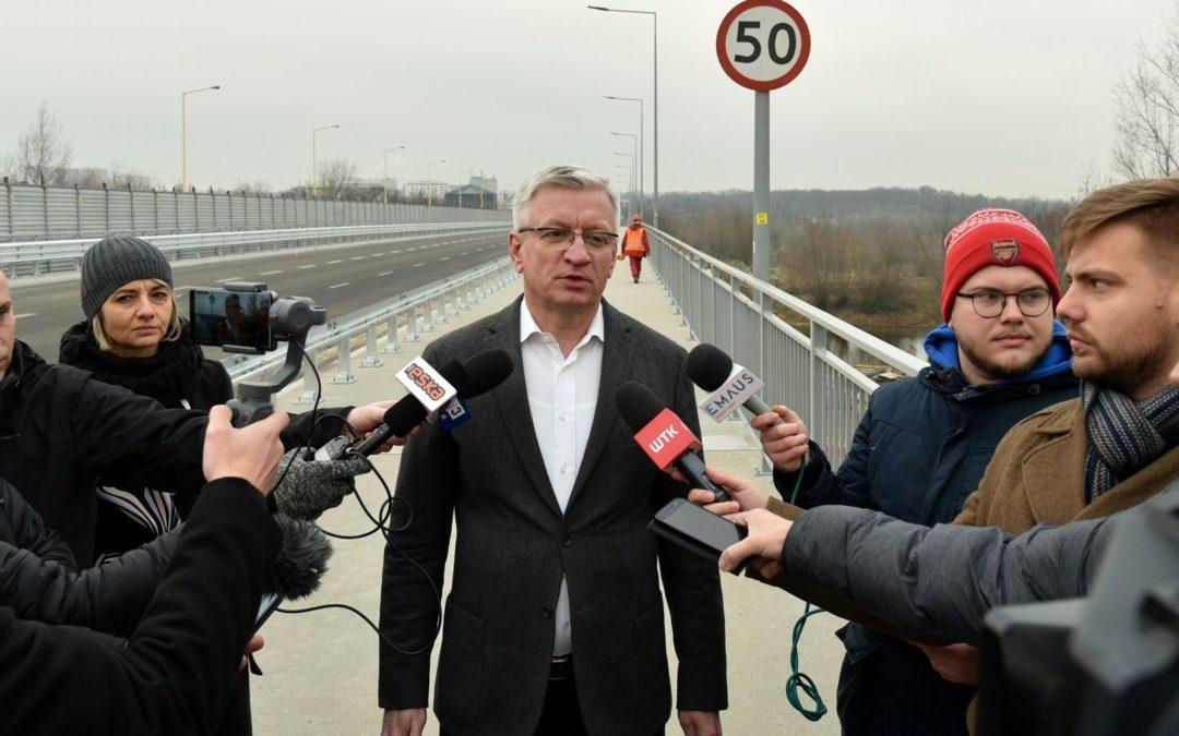Jaśkowiak przeprasza za korki na moście Lecha