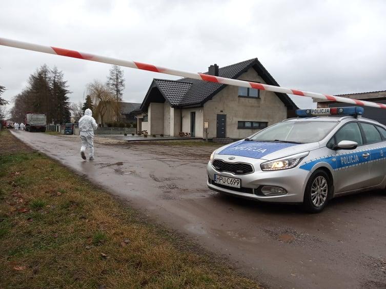 Ptasia grypa w miejscowości Topola Osiedle