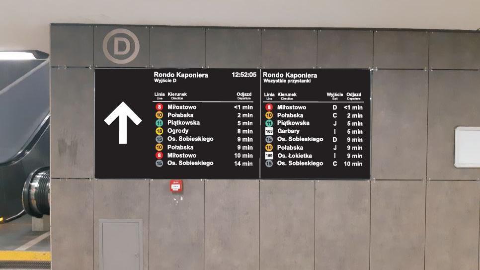 Więcej tablic informacyjnych na przystankach