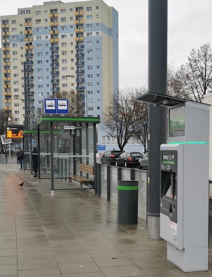 Nowe biletomaty w Poznaniu