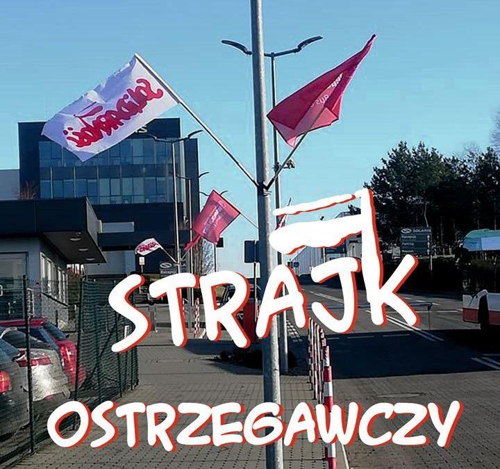 Strajk w fabryce autobusów Solarisa