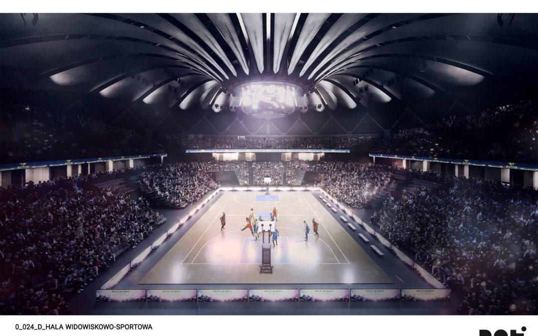 Tak będzie wyglądała wewnątrz Arena