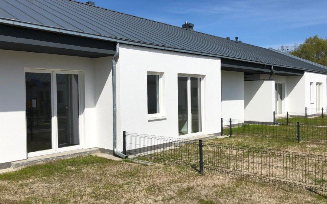 50 nowych mieszkań komunalnych z ogródkiem oddanych do użytku