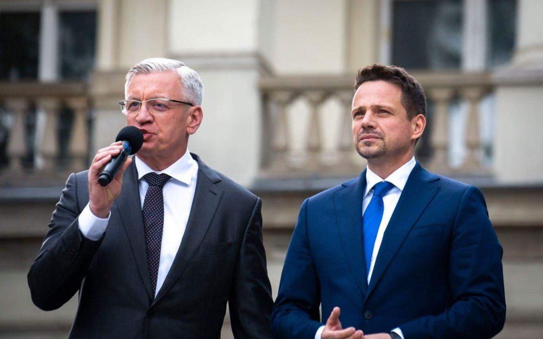 W Wielkopolsce i Poznaniu wygrał Trzaskowski