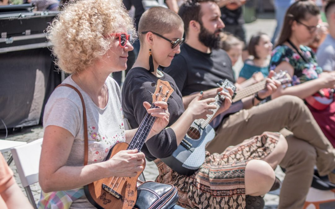 Festiwal Cały Poznań Ukulele potrwa w tym roku ponad 3 miesiące