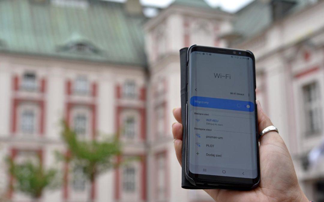 Kolejny punkt darmowego bezprzewodowego internetu w Poznaniu