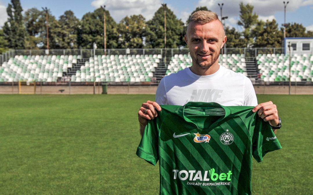 Jan Grzesik podpisał kontrakt z Wartą Poznań