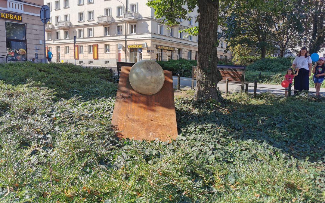 Plac C. Ratajskiego coraz większą galerią sztuki