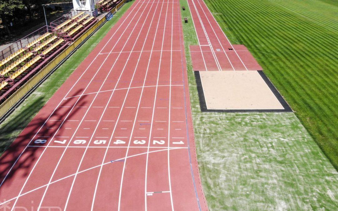 Główny stadion lekkoatletyczny na Golęcinie odnowiony