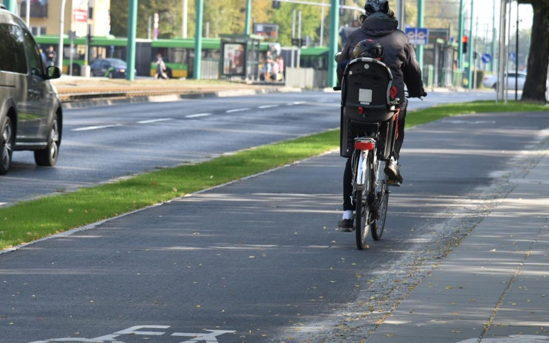 Droga rowerowa wzdłuż ul. Grunwaldzkiej gotowa
