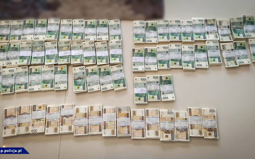6,5 miliona złotych strat Skarbu Państwa. 16 osób zatrzymanych