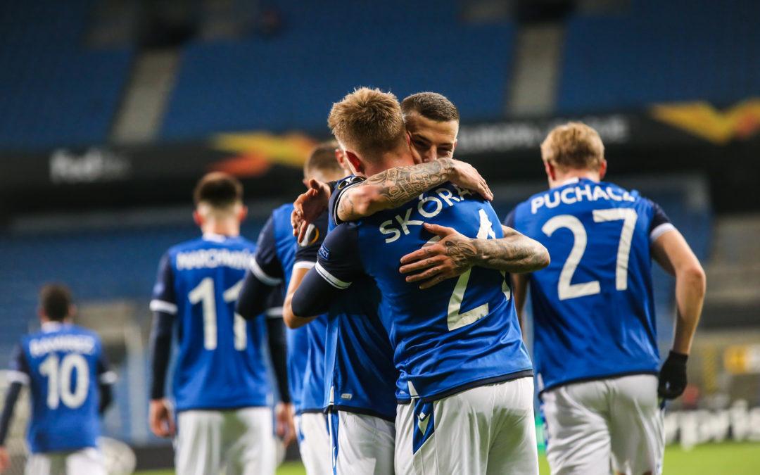 3 gole, 3 punkty. Pierwsze zwycięstwo Lech Poznań w Lidze Europy