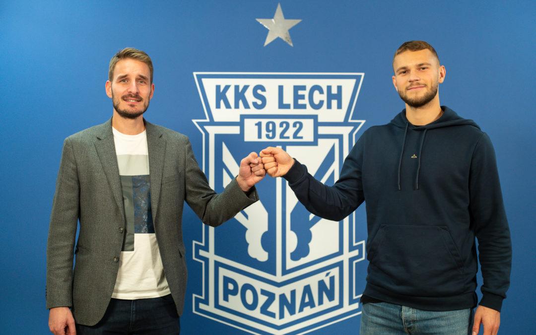 Jesper Karlström od stycznia piłkarzem Lecha